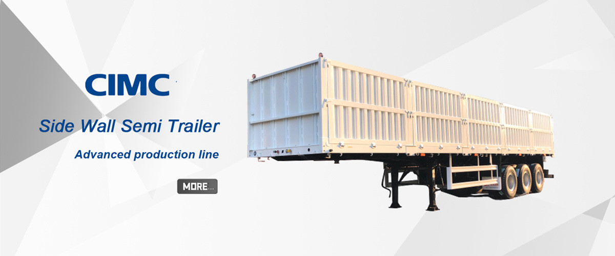 China best Side Wall Semi Trailer on sales