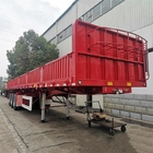 800mm Height Q345B Mechanical 3 Axle 80T Side Wall Trailer