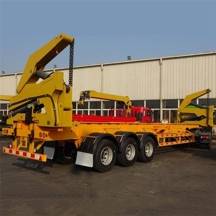 Economical Automatic 3 Axle 37ton Container Side Loader