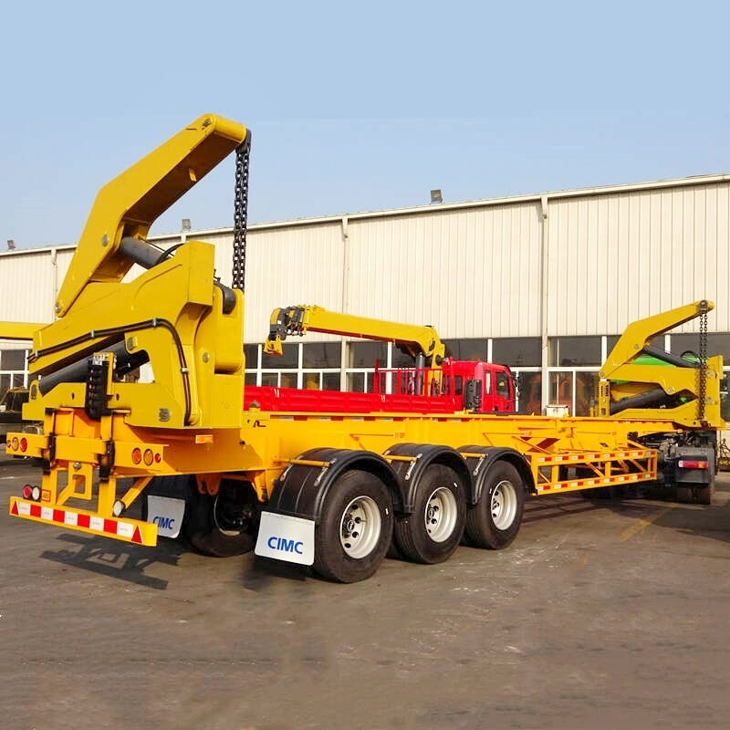 37Ton 45Ton Self Loading Side Lifter Container Trailer